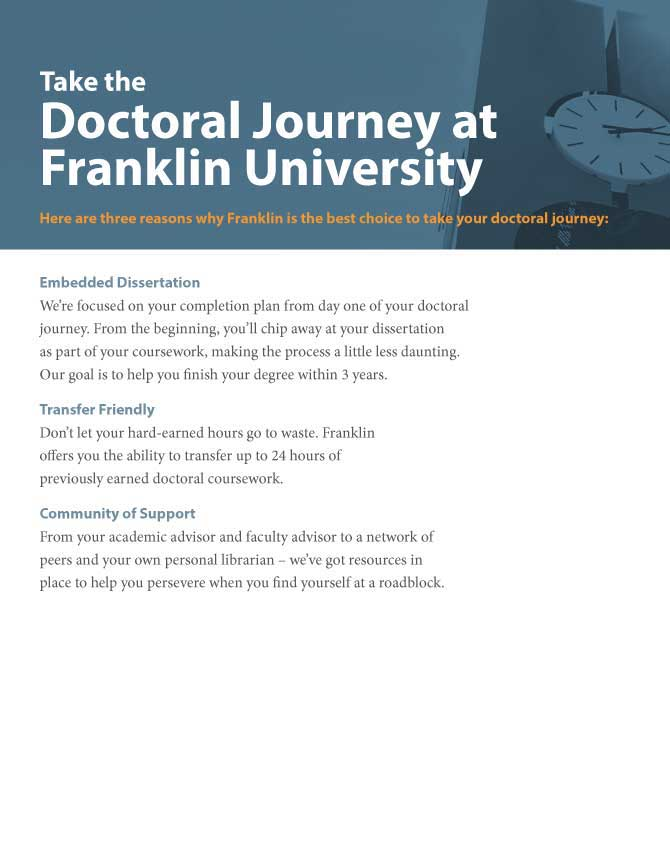 A Guide to Complete Your Doctoral Journey